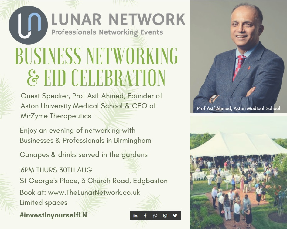 Eid August Birmingham 2018 Lunar Network